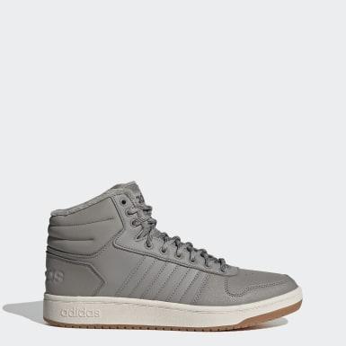 серый Высокие кроссовки Hoops 2.0 Mid