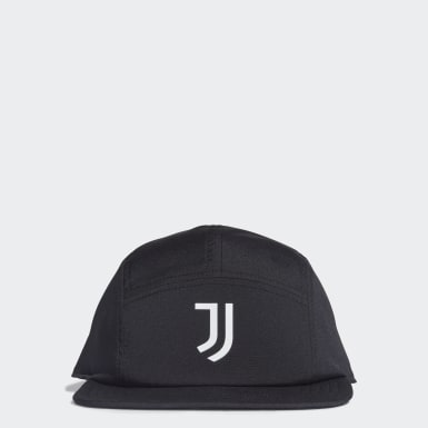 Juventus Five-Panel Cap Czerń