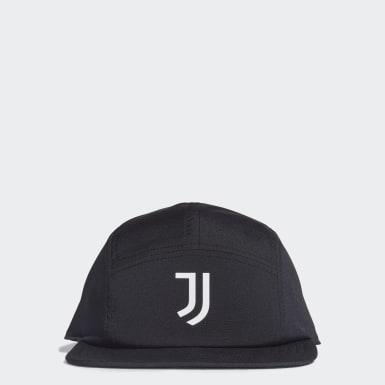 Fußball Juventus Turin Five-Panel Kappe Schwarz