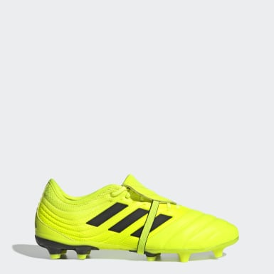 Football Yellow Copa Gloro 19.2 Firm Ground Boots