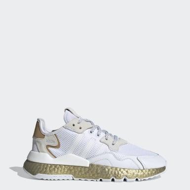 Sapatos Nite Jogger Branco Mulher Originals