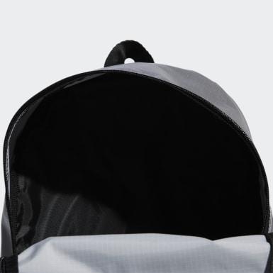 ผู้หญิง Sport Inspired สีเงิน กระเป๋าสะพายหลังเมทัลลิกทรงคลาสสิกขนาดกลาง