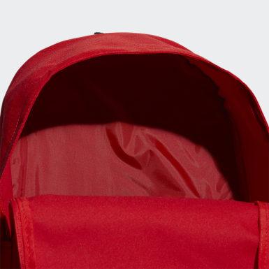 Sport Inspired Red Classic Sırt Çantası - Ekstra Büyük Boy