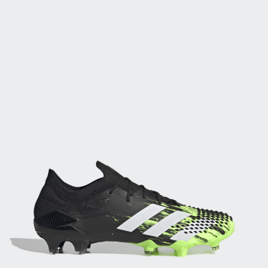 Football Green Predator Mutator 20.1 Low Firm Ground Boots
