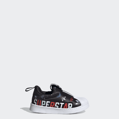 Infants Originals Black Superstar 360 X Shoes
