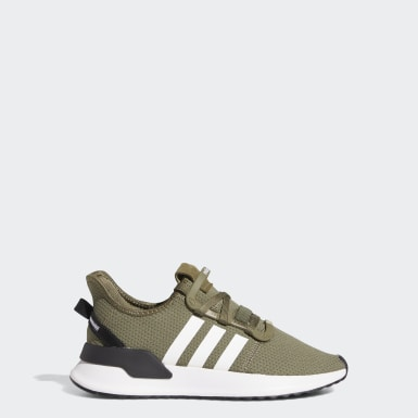 Youth Originals Green U_Path Run Shoes