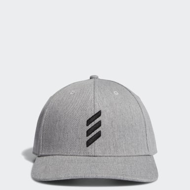 Men's Golf Grey Adicross Bold Stripe Hat