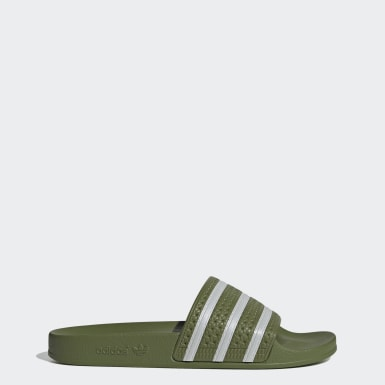 Originals Green Adilette Slides