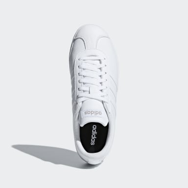 Women Skateboarding White VL Court 2.0 Shoes