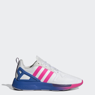 Women Originals White ZX 2K Flux Shoes