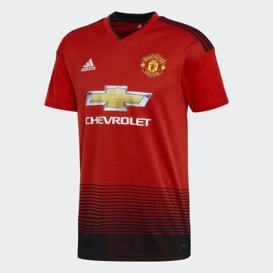 Muži Fotbal červená Dres Manchester United Home