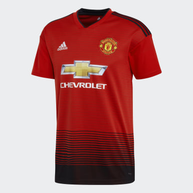 Heren Voetbal Rood Manchester United Thuisshirt