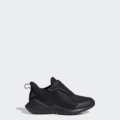 Çocuklar Koşu Siyah FortaRun Ayakkabı