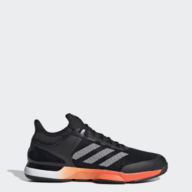 Men's Tennis Black Ubersonic 2 Clay Court Shoes