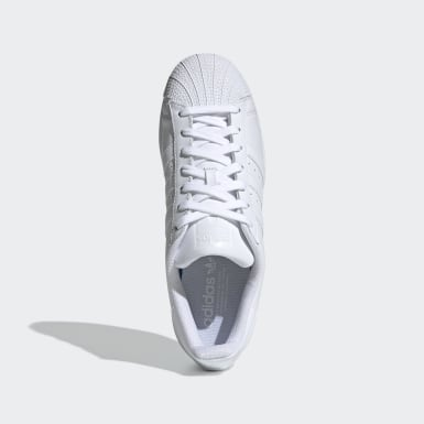 Originals สีขาว รองเท้า Superstar Foundation