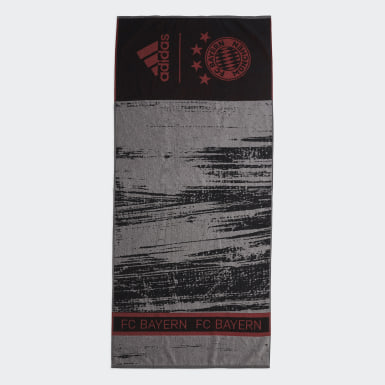 Simning Svart FC Bayern Munich Cotton Towel