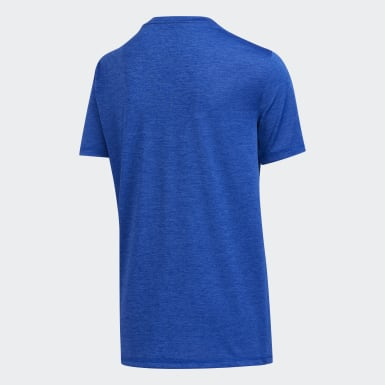 Youth Training Blue Pixel Tee