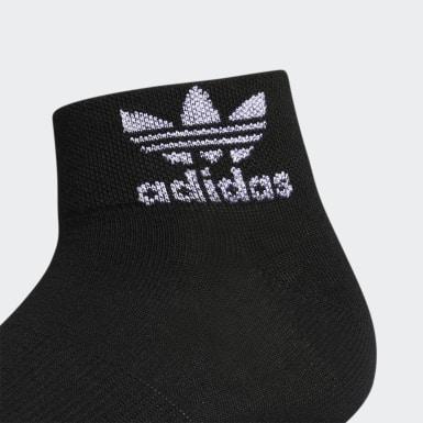 Women's Originals White Trefoil Shine Low-Cut Socks 3 Pairs