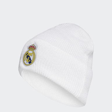 Berretto Real Madrid Bianco Calcio