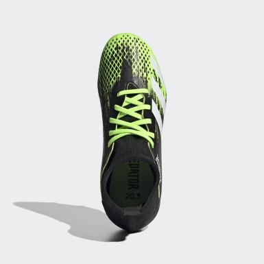 Chaussure Predator Mutator 20.3 Terrain souple Vert Enfants Football
