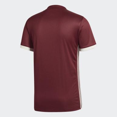 Бордовый Домашняя игровая футболка сборной Венесуэлы