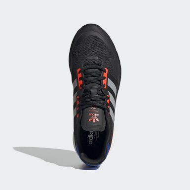 Men Originals Black ZX 1K Boost Shoes