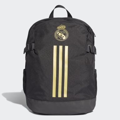 Football Black Real Madrid Backpack