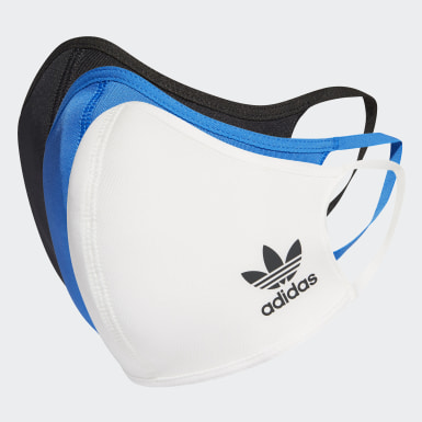Athletics Flerfarvet 3-Pack ansigtsmasker, XS/S