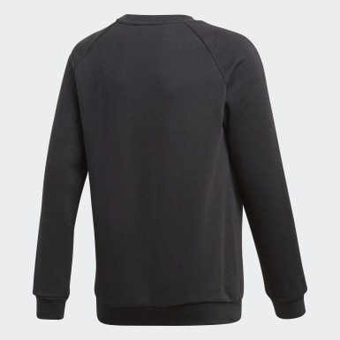 Kinder Training Core 18 Sweatshirt Schwarz