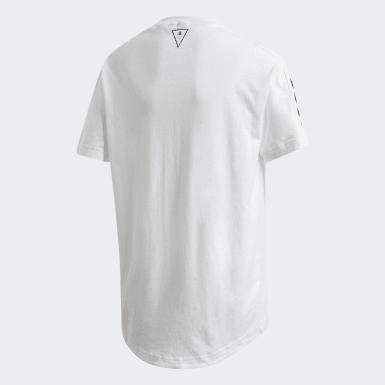 Camiseta Must Haves Blanco Niño Athletics