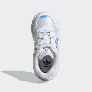 Chaussure Yung-96 Blanc Enfants Originals