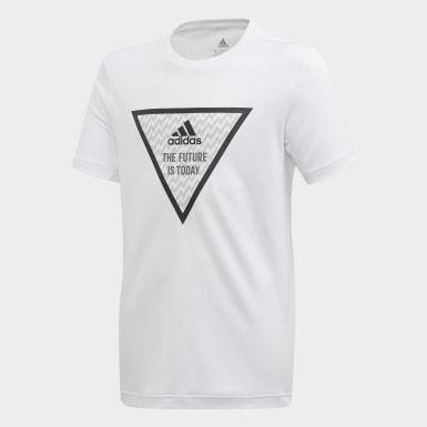 Boys Yoga Hvid XFG T-shirt