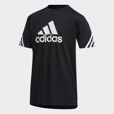 Youth Training Black AEROREADY Tee