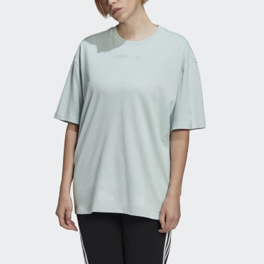 Women Originals Turquoise Oversize T-Shirt