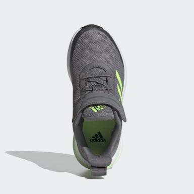Chaussure de running FortaRun 2020 gris Enfants Course