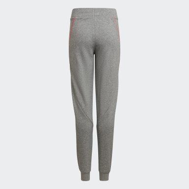Pantaloni Bold Tapered Leg Grigio Ragazza Training