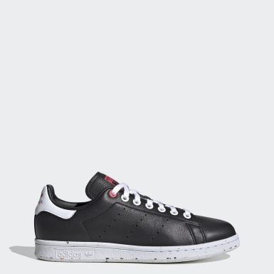 Dames Originals zwart Stan Smith Schoenen