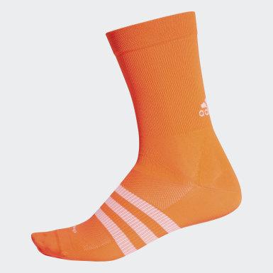 Medias Sock.hop.13 Naranja Ciclismo