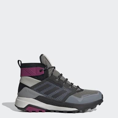 Chaussure de randonnée Terrex Trailmaker Mid COLD.RDY Gris Femmes TERREX