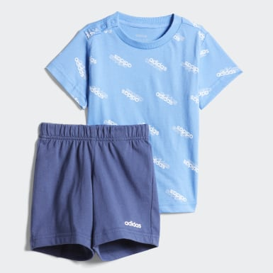 Ensemble Favorites Bleu Enfants Athletics