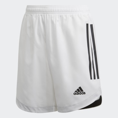 Youth 8-16 Years Training White Condivo 20 Shorts