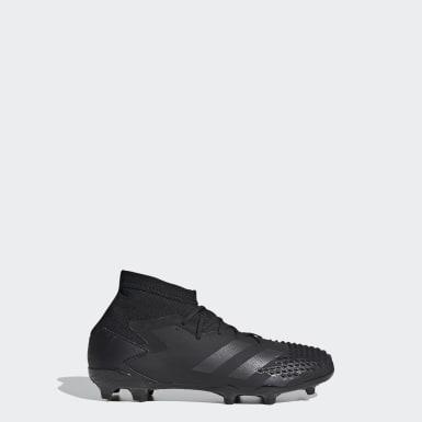 Børn Fodbold Sort Predator Mutator 20.1 Firm Ground støvler