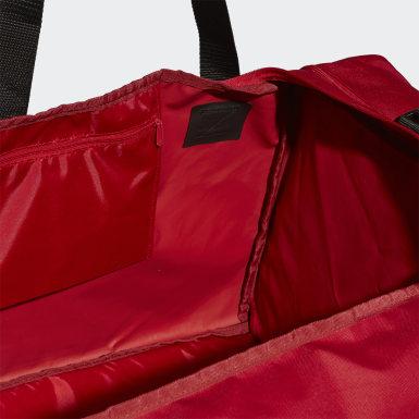 Saco Duffel Tiro – Tamanho L Vermelho Futebol
