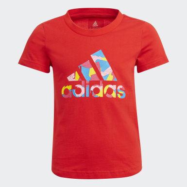 T-shirt LEGO Classics Graphic Rouge Filles Training