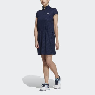 Women Golf Blue Dress