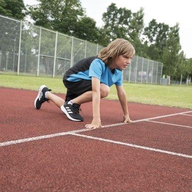 เด็ก วิ่ง สีดำ รองเท้า Duramo 9