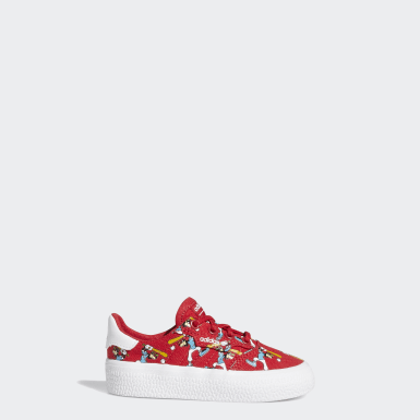 Infants Originals Red 3MC x Disney Sport Goofy Shoes