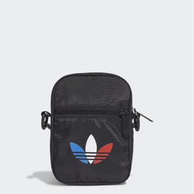 Originals Black Adicolor Tricolor Festival Bag