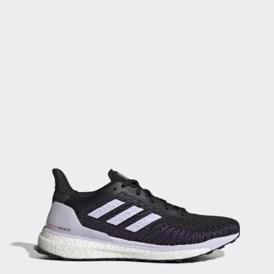 Kvinder Løb Sort Solarboost ST 19 sko