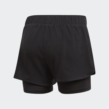 Shorts M10 Preto Mulher Running